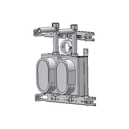 Deltamess Phase gros œuvre Minibloc Koax avec T pour système d\'installation TECEprofil (TECE)