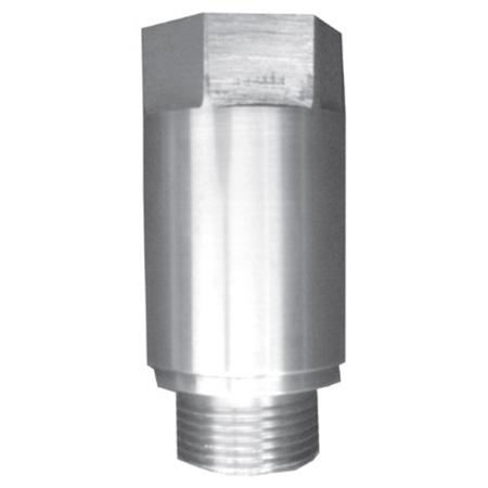 Druckschlag-/Geräuschdämpfer für  Aufputz -Geräteanschluss ¾ AG x ¾ IG