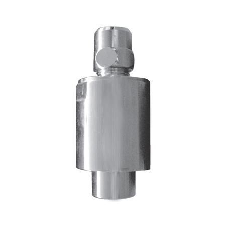 Amortisseur contre des coups de bélier et des bruits pour robinetterie apparente mono-trou (lavabo)  pour raccordement 3/8 M x 3