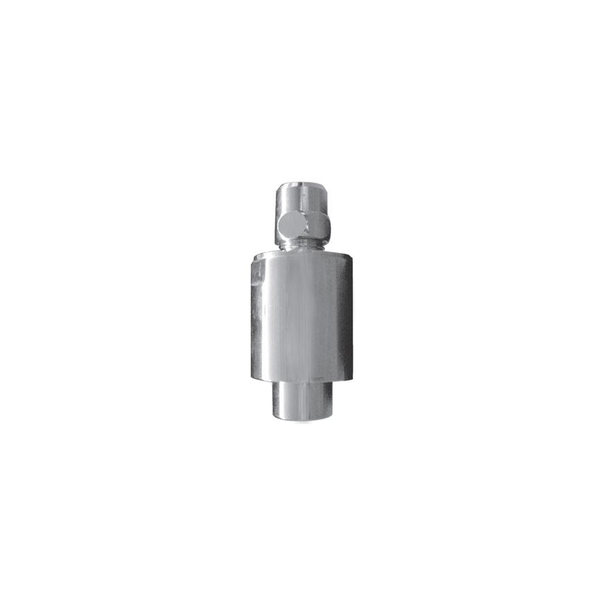 Druckschlag-/Geräuschdämpfer für Aufputz-Einloch-Armaturen mit Anschluss 3/8 AG x 3/8 IG