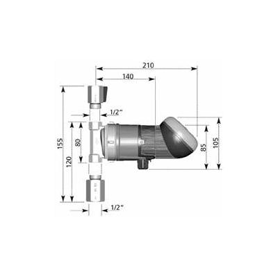 BWZ 152 R 1/2 oT mit Innengewinde