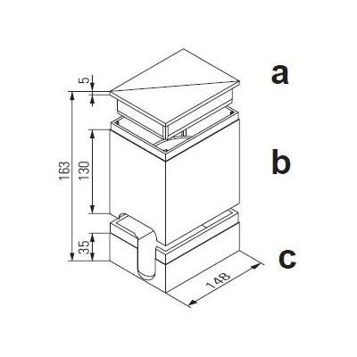 Protection de chantier polystyrène supérieure et inférieure pour Unicount