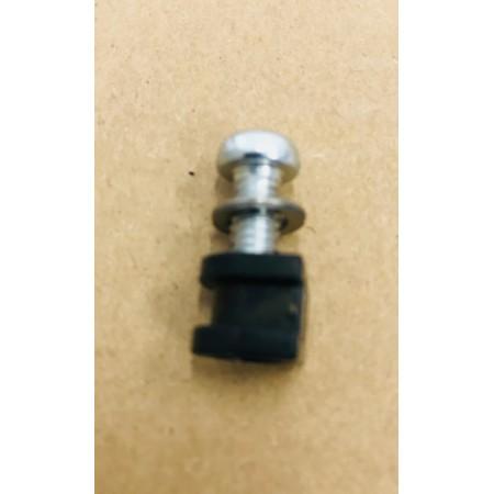 Set de fixation (4 vis M4x16mm, 4 rondelles M6 et 4 becs d\'amortissement des bruits) pour Unicount Koax sans  T