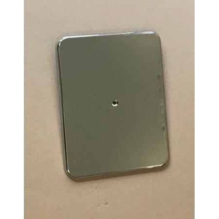 verchromte Abdeckplatte für Unicount